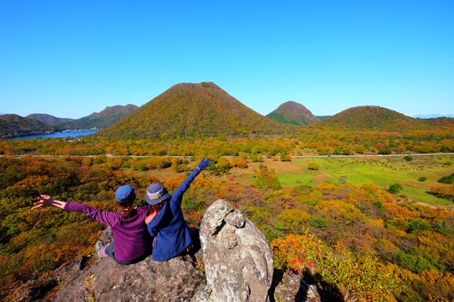 紅葉真っ只中の榛名山(はるなさん)に行ってきました! | ena(イーナ)ブログ